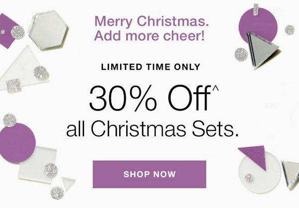 化妆品牌 Clinique 倩碧澳洲官网圣诞活动:所有圣诞套装7折优惠!