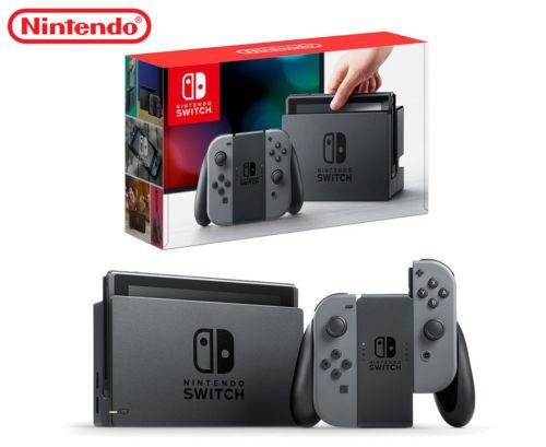 Nintendo 任天堂 Switch 游戏主机 – 两色可选!
