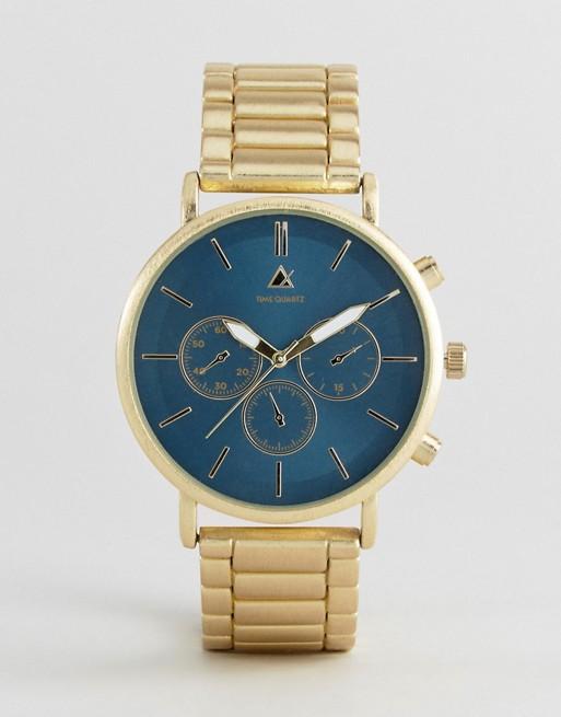 ASOS 深绿表盘金色表带腕表 8折优惠!
