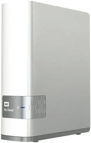 WD 西部数据 My Cloud 4TB 个人云存储硬盘 NAS 8折优惠!