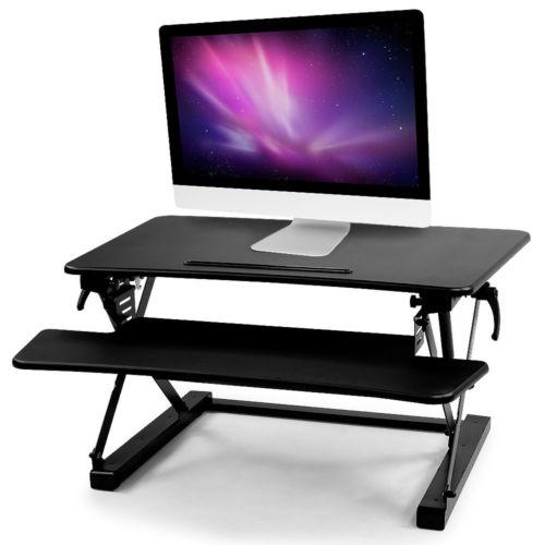 站坐两用 可调节高度桌上电脑桌  低至76折优惠!
