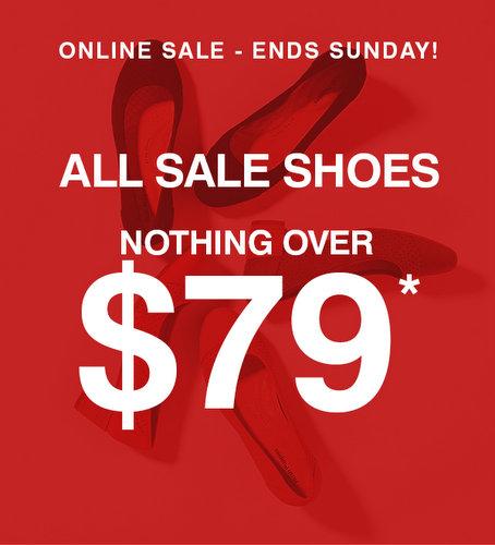 鞋履品牌 Hush Puppies 特惠活动:所有折扣类商品均低于79刀!