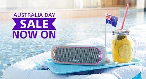 """索尼 Sony 官网 """"澳洲国庆节""""活动:部分精选商品 – 电视、耳机、音箱、相机等 –"""