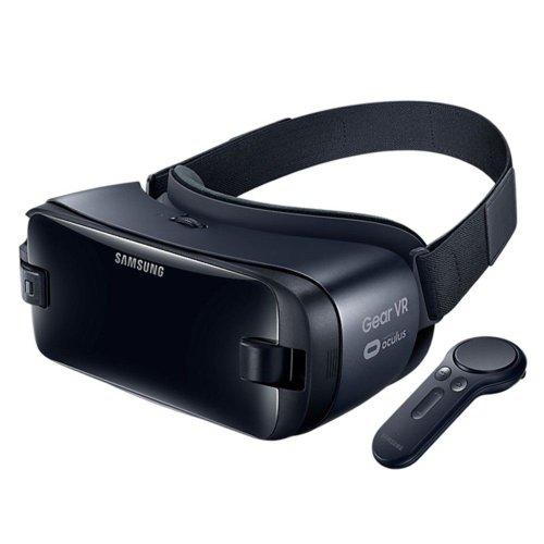 SAMSUNG 三星 Gear VR 2017 头戴设备 VR眼镜+遥控器 – 4折优惠!