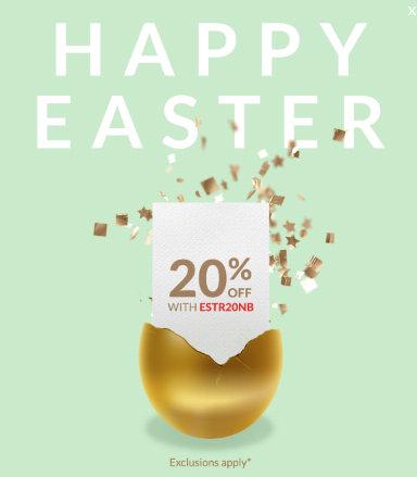 奢侈品特卖网站 Reebonz 复活节活动:全场所有商品在原有低至5折的基础上