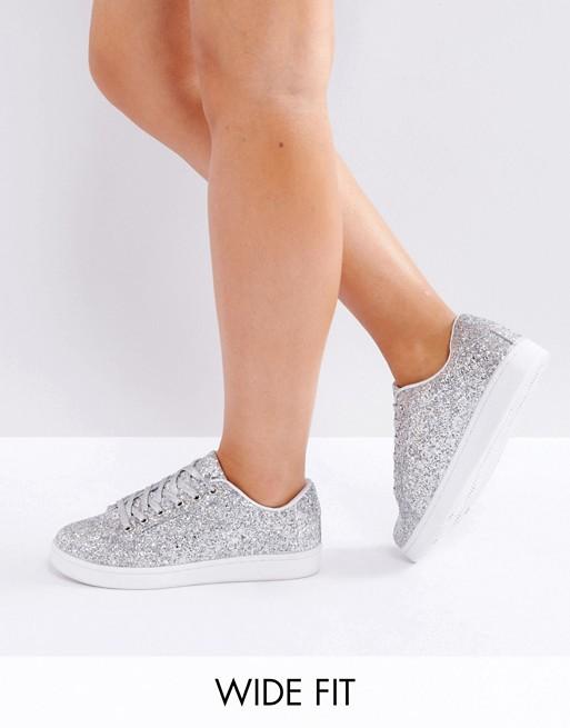 Truffle 闪亮银色运动鞋 44折优惠!