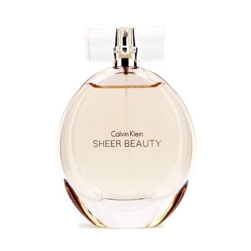 Calvin Klein Sheer Beauty EDT  女士香水喷雾100毫升 7折优惠!