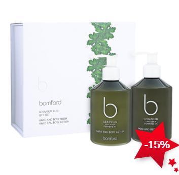 Bamford   天竺葵 身体护理礼物套装 85折优惠!