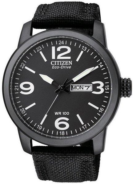 Citizen Eco-Drive 西铁城 光动能 BM8475-34E 不锈钢表盘尼龙表带 男士时尚运动腕表 低至4折优惠!