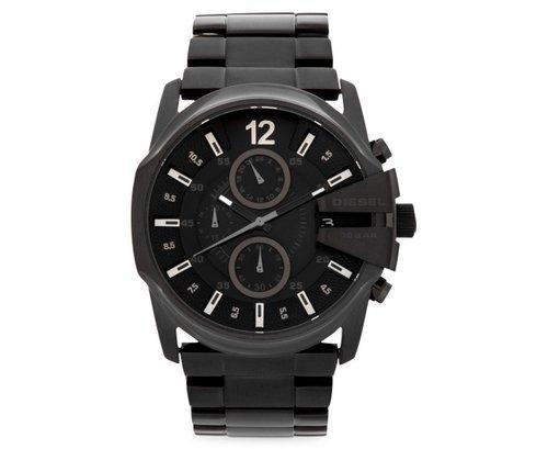 Diesel DZ4180 49mm 不锈钢男款黑色时尚腕表 低至6折优惠!