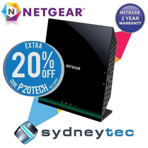 网件 NETGEAR D6100 AC1200 双频无线路由器 额外8折优惠!