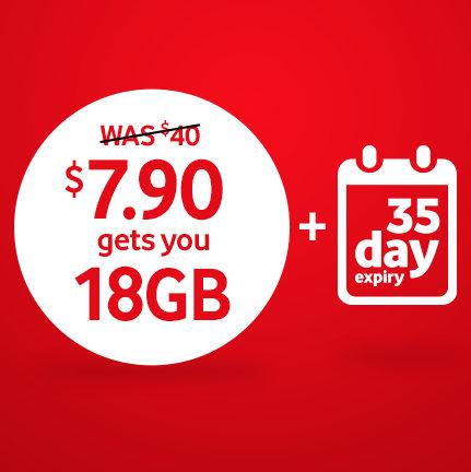Vodafone 40刀的 Unlimited Prepaid 套餐(1000分钟国际话费+12GB流量)超低价优惠!