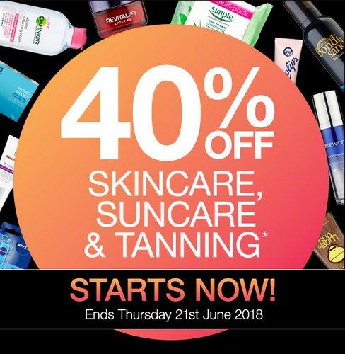 澳洲药房 Priceline:护肤品、防晒品等商品可享6折优惠!