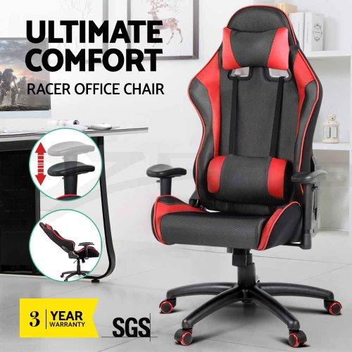 PU 皮革 网面材质 腰部支撑 舒适电脑椅 多色可选 低至36折优惠!