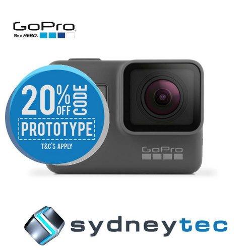 GoPro HERO6 CHDHX-601 最新一代 4K高清防水 运动摄像机 8折优惠!