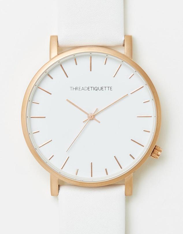 Thread Etiquette Minimalist 中性时尚简约腕表 5折优惠!