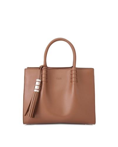 TOD'S 暗粉色购物袋 69折优惠!