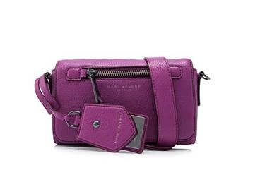 Marc Jacobs Recruit 紫色女包 低至4折优惠!