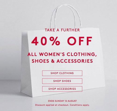 时尚品牌 Country Road Outlet 站:所有原本已是超低价的女式商品
