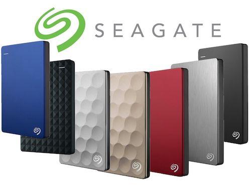 SEAGATE 希捷 2.5″ 便携式移动硬盘 – 8折优惠!