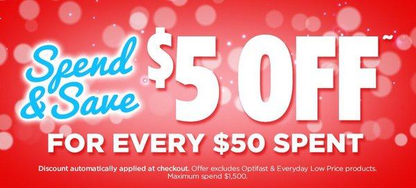 澳洲药房 Amcal 满减活动:每购满$50 可额外立减5刀!