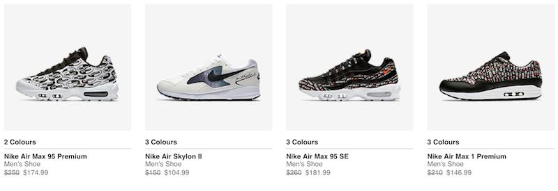 Nike 澳洲官网 特价活动:部分精选特价商品 - 低至6折优惠!