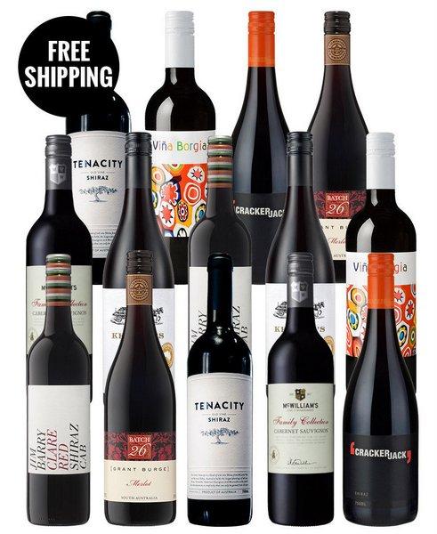 Red Wine Champions 红酒14瓶装 低至4折优惠!