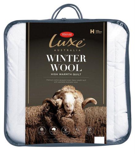 Tontine Luxe 可机洗澳洲羊毛被 – 低至5折优惠!