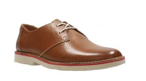 Clarks Jareth Walk 男士休闲皮鞋 两色可选 半价优惠!现价只要$109!
