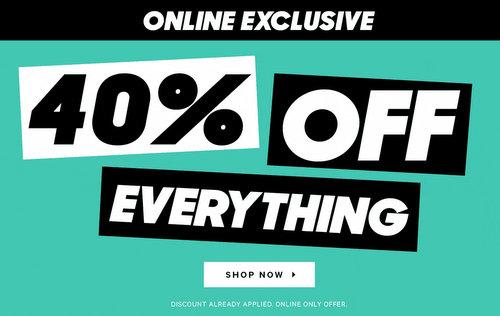 澳洲男装品牌 YD 特价活动:全场所有商品 - 额外6折优惠!