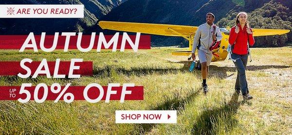 户外运动品牌 Kathmandu 官方 eBay 店全价特价:部分精选商品低至5折优惠!