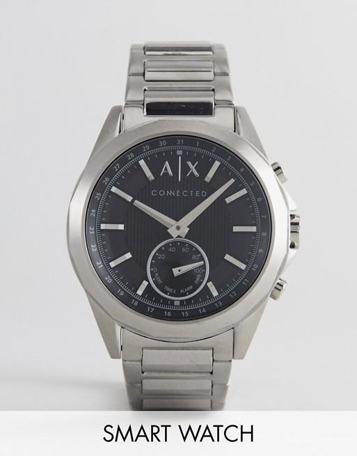 Armani 阿玛尼 Connected AXT1006 银色男款时尚智能手表 8折优惠!