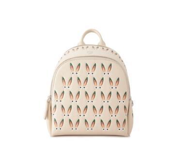 MCM Polke 星眼兔子粉色背包 85折优惠
