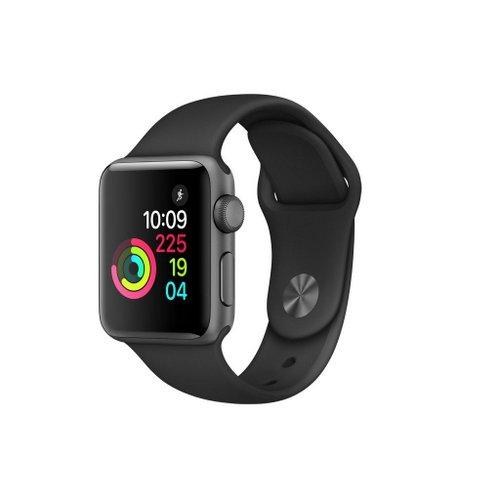 苹果 Apple Watch Series 2 38mm 智能手表 深空灰色铝金属表壳黑色表带 额外9折优惠!