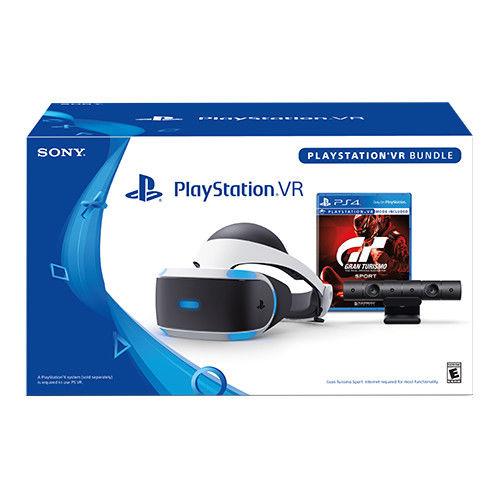 索尼 Sony PlayStation VR Gran Turismo Sport 游戏套装 8折优惠!
