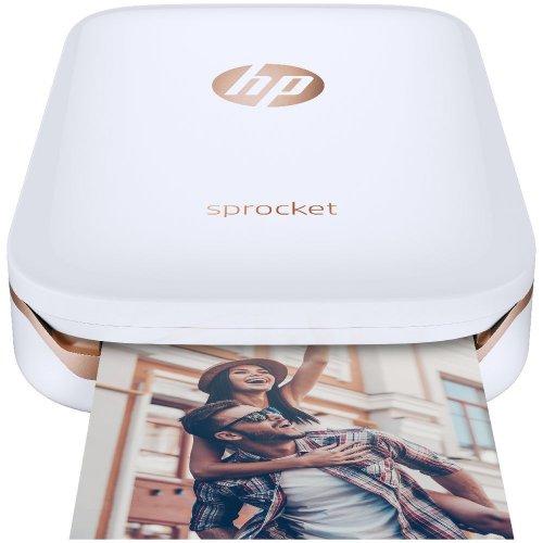 HP 惠普 Sprocket 便携式口袋照片打印机 白色款 – 8折优惠!