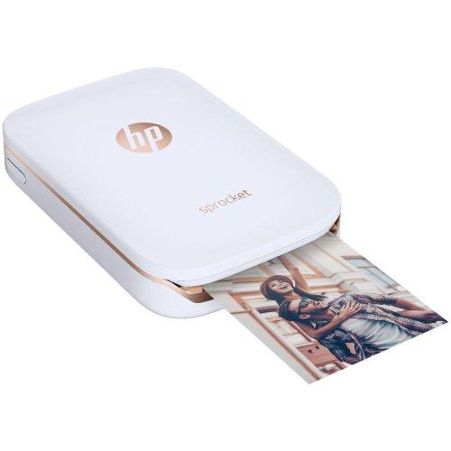 HP 惠普 Sprocket 便携式口袋照片打印机 白色款 - 8折优惠!