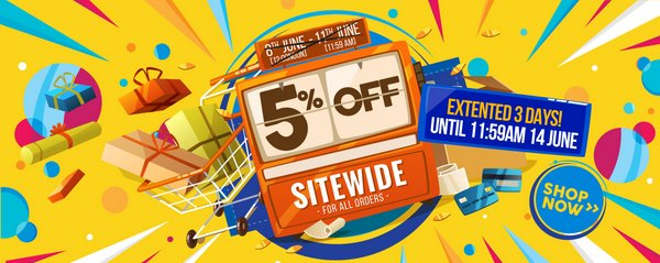 电子产品特卖网站 DWI-Digital 特惠:全场所有商品额外95折优惠!