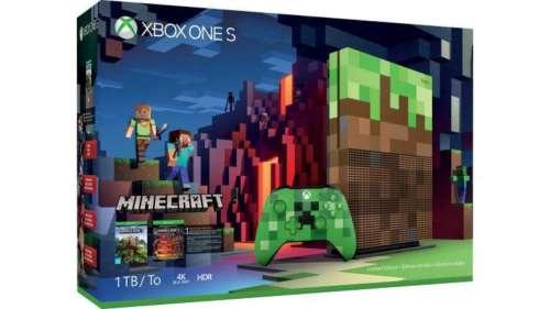 微软 Xbox One S 1TB版 游戏主机 + 游戏套装 低至7折优惠!