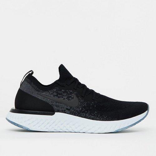NIKE 耐克 EPIC REACT FLYKNIT 男士跑鞋 黑灰配色 75折优惠!