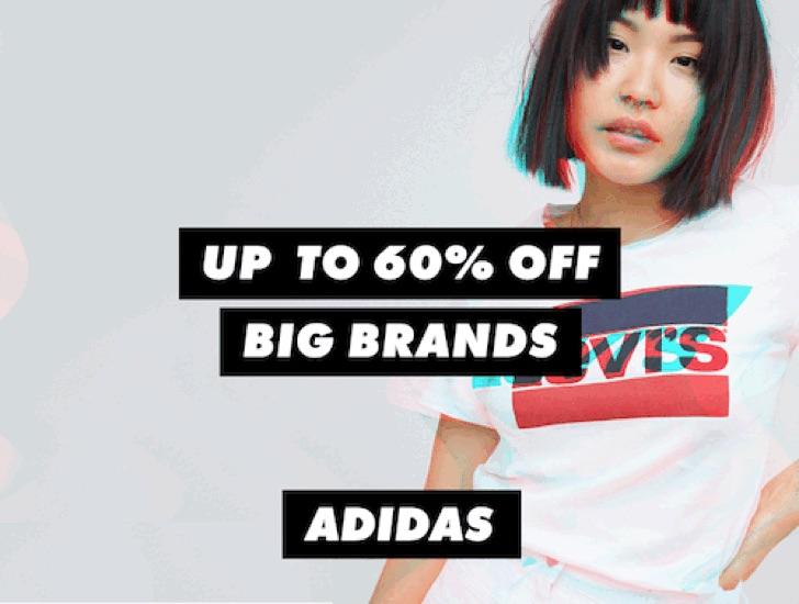 时尚网站 ASOS 部分精选大牌商品 – Adidas、CK、Nike、Tommy Hilfiger 等 –