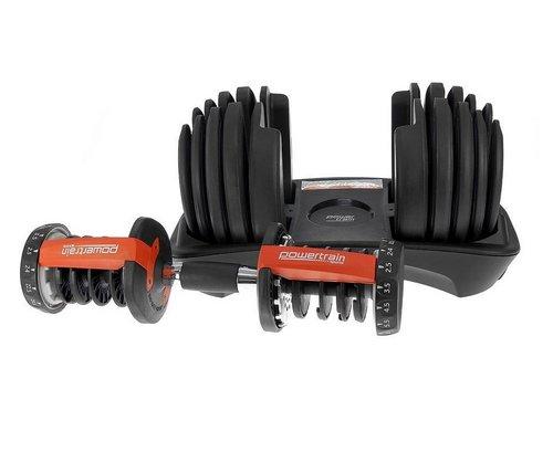 Powertrain 可拆卸调节哑铃 套装 48Kg 额外85折优惠!