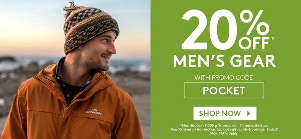 户外运动品牌 Kathmandu 官方 eBay 店:全场所有商品 – 羽绒服、冲锋衣、户外背包等 额外8折优惠!