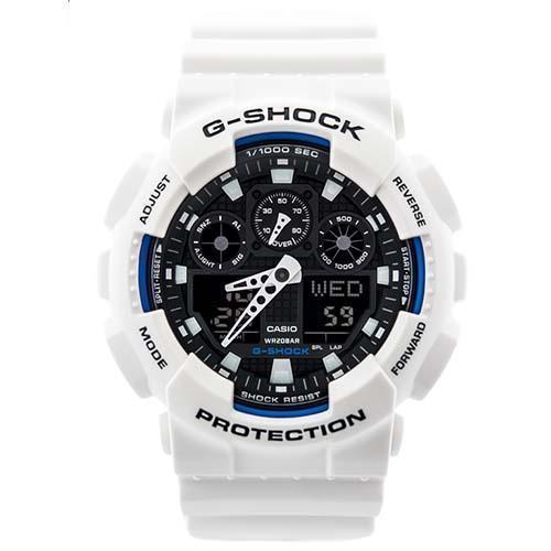 卡西欧 Casio G-Shock  GA-100B-7ADR 白色时尚腕表 8折优惠!