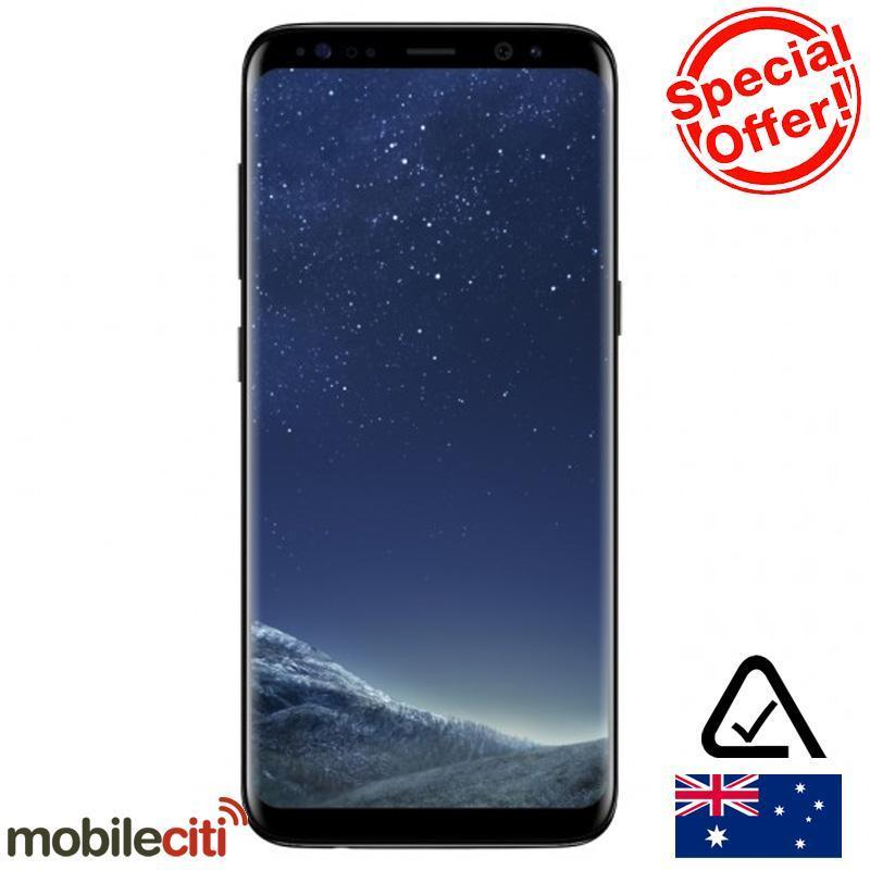 [Au Stock] 三星 Samsung Galaxy S8+ Plus (G955F, 64GB/4GB) – Midnight Black – 7折优惠!