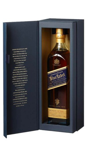 Johnnie Walker Blue Label 蓝方苏格兰威士忌 750mL 礼盒装 - 低至76折优惠!