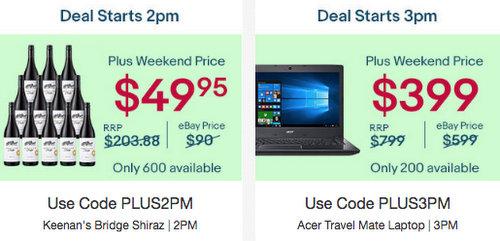 eBay Plus 会员周末特惠:超多种商品可享额外85折优惠!