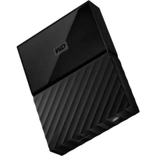 Western Digital 西部数据 My Passport 4TB 2.5″ 便携式移动硬盘 黑色款 低至4折优惠!
