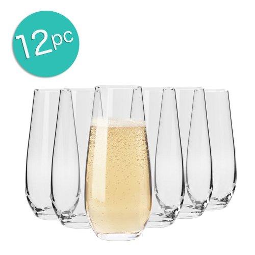 KROSNO Vinoteca 230ml 无手柄酒杯 12个 低于5折优惠!