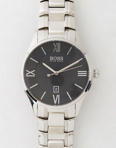HUGO BOSS GOVERNOR系列 男士时尚 钢带简约商务腕表 7折优惠!